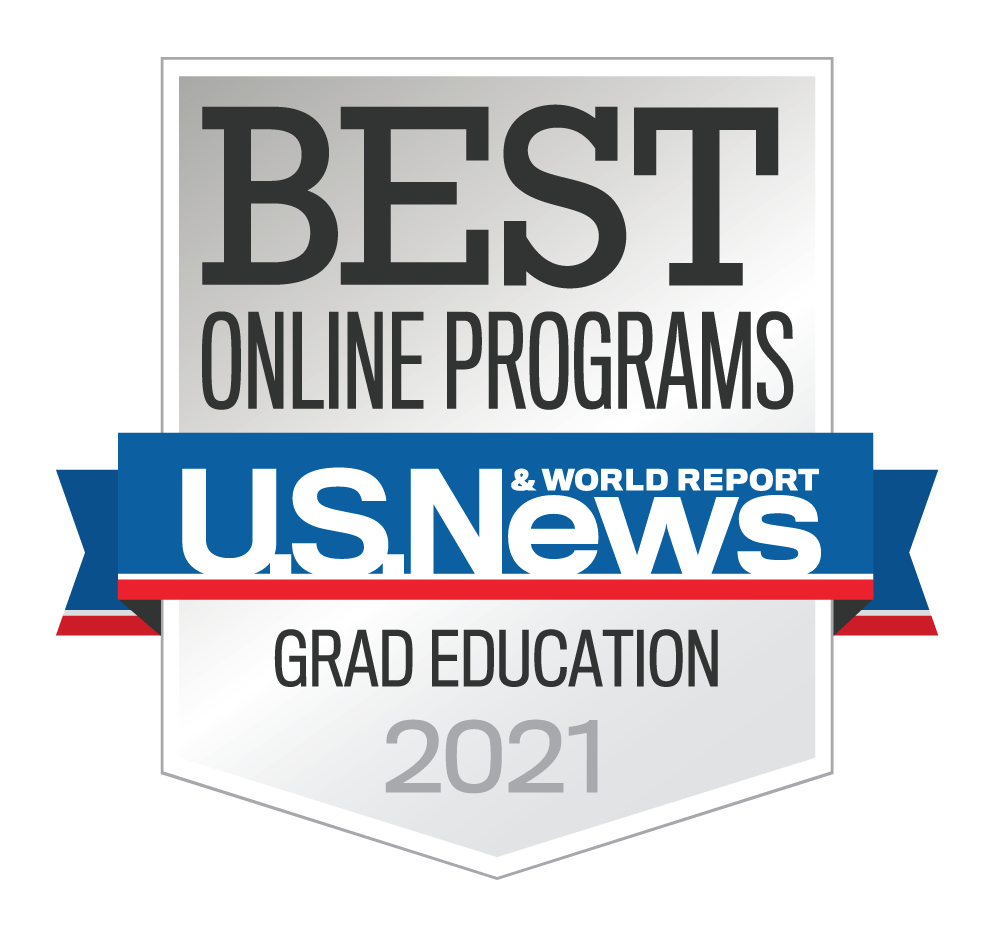 #1 - 2021 Rankings - Online Masters - Education Programs